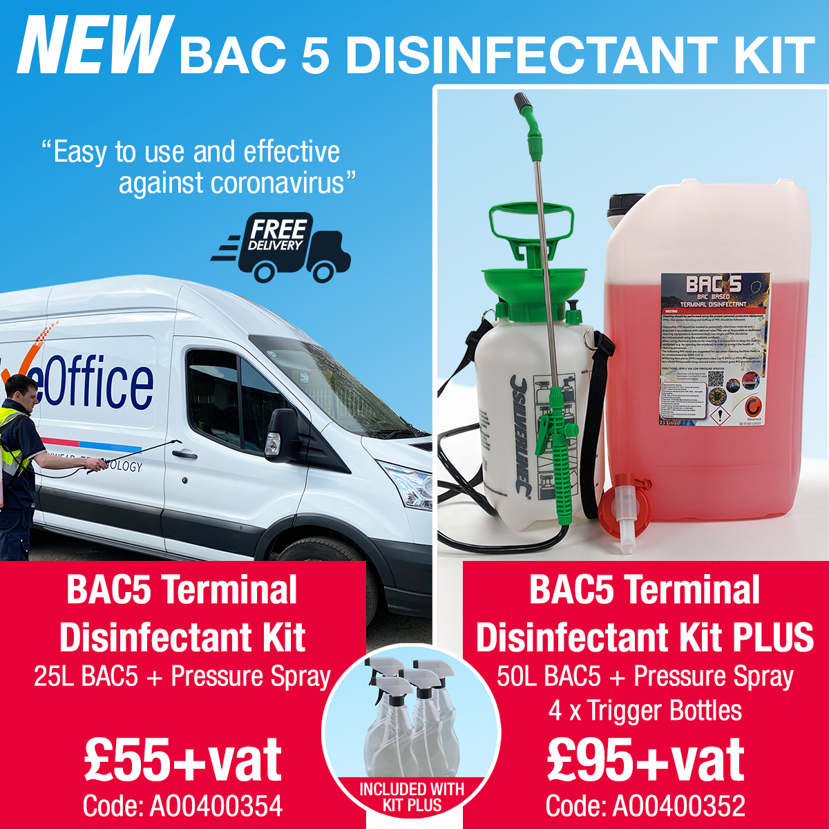 BAC5 disinfectant