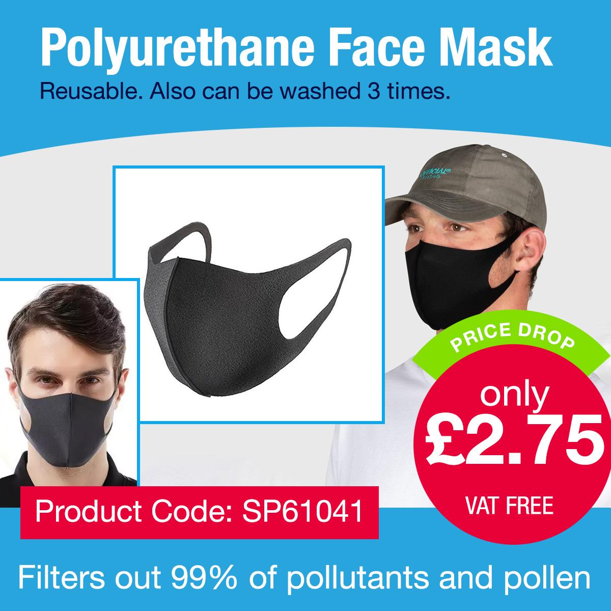 Polyurethane Face mask