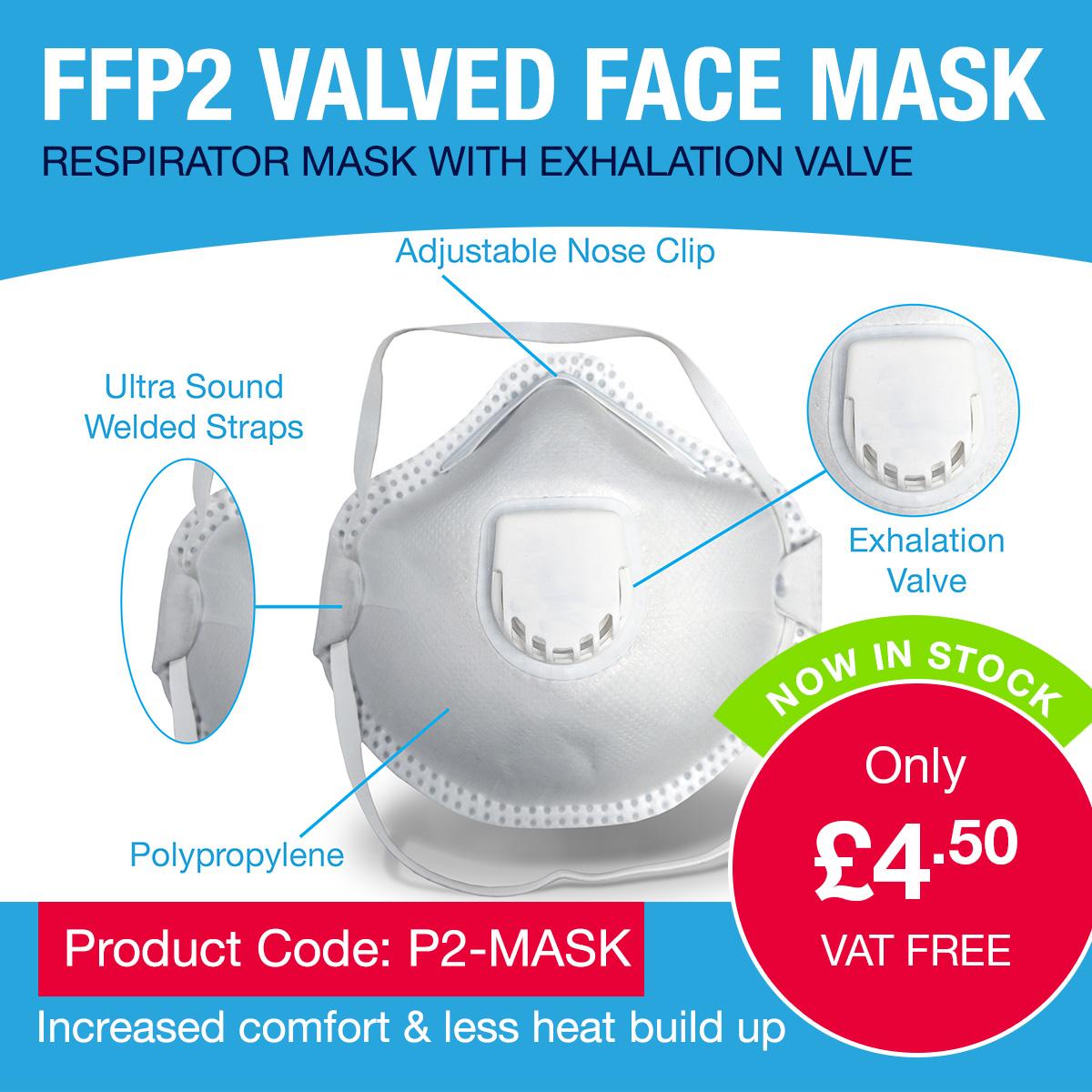 FFP2 Valve Respirator mask