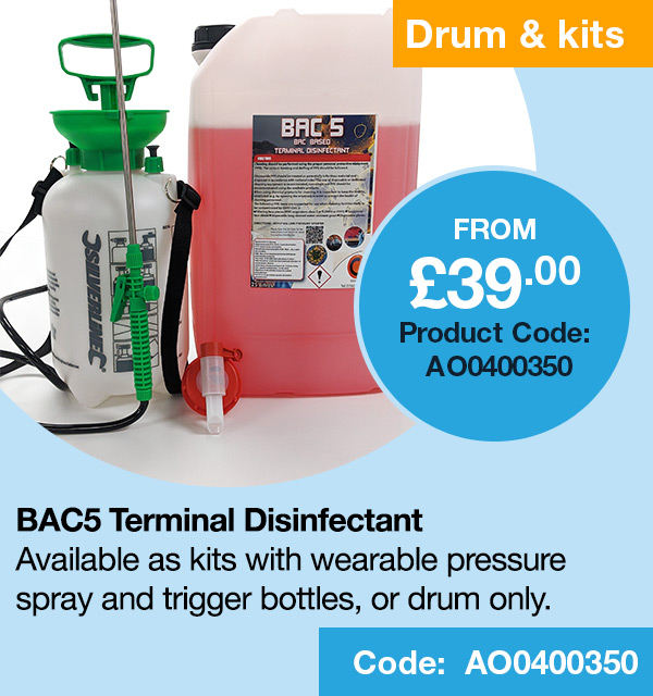 BAC5 Terminal Disinfectant