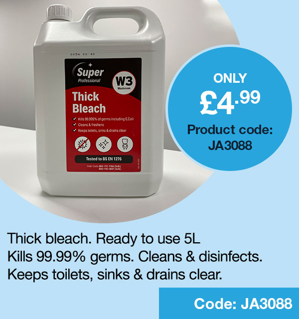 Thick Bleach Ready To Use 5 Litre 2W03977