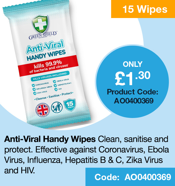 Anti-Viral Handy Wipes