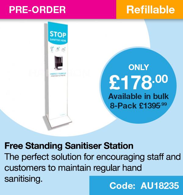Free Standing Sanitising Station